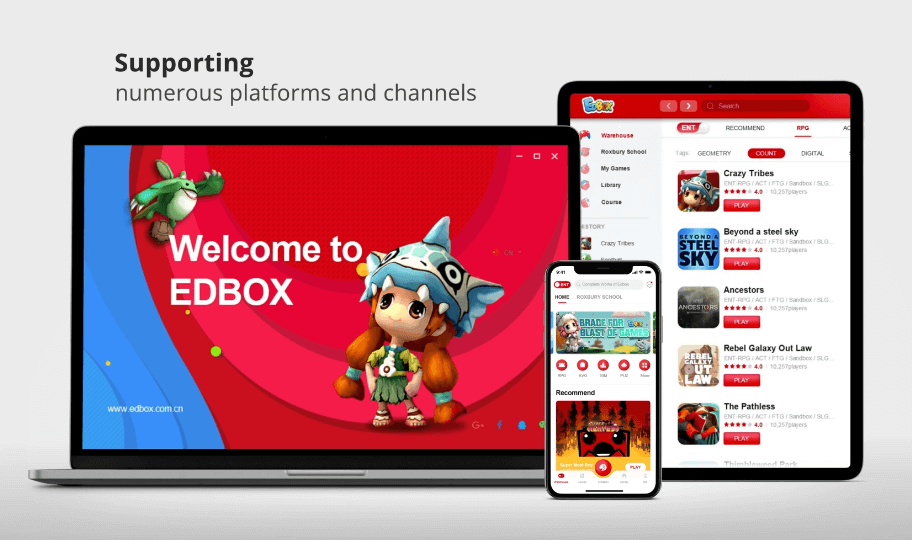Edbox multi platform